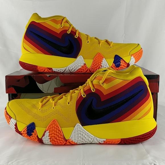 buy popular 6215f f1e55 Nike Kyrie IV 4 Decades Pack 70s Shoe 943806-700 NWT